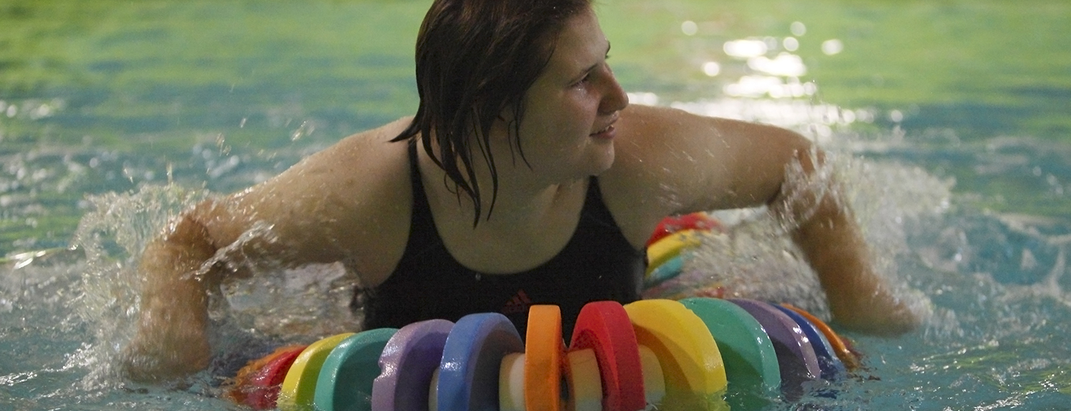swimming therapy at loddon school